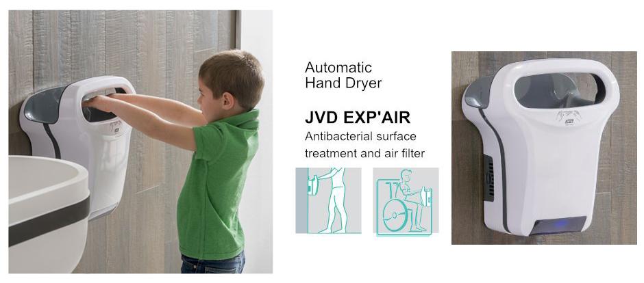 Kézszárító, JVD EXP'AIR