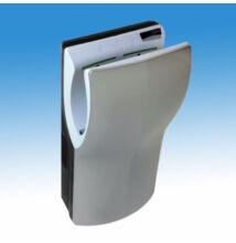 Mediclinics Dualflow Plus kézbedugós nagysebességû, alacsony hõmérsékletû infra kézszárító gép, szürke ABS burkolattal (420-1100W), 234 – 410 Km/h légsebesség, 3 rétegû HEPA szûrõvel, üríthetõ vízgyüjtõvel